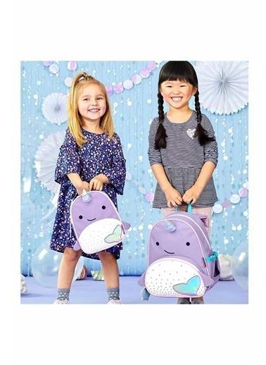 Skip Hop Skip Hop Narwhal Unicorn Desenli Çocuk Beslenme Çantası Lila